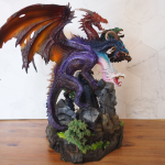 Tiamat Ma'aldrakar mini from Reaper
