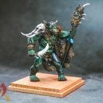 Orc Shaman Miniature painted by melbourne mini painter