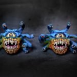 Xanatahar beholder mini painted by melbourne mini painter