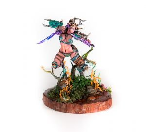 Photo of Elan model from Kimera painted by Melbourne Mini Painter