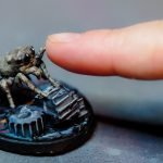 Lucas the spider inspired miniature model painted by Melbourne Mini Painter