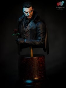 The Phantom of the Opera model as painted by Melbourne Mini Painter