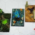 Scorpion, sea creature and swamp thing from Print Your Monsters Painted by Melbourne Mini Painter