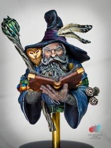Octavius the Wizard from Black Crow Miniatures