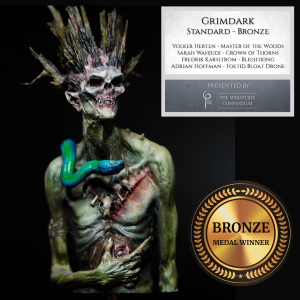 Bronze winner for Miniature Painters Open Competition in Grimdark by Melbourne Mini Painter